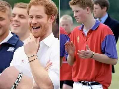 威廉王子 哈里王子却20年一直戴着TA