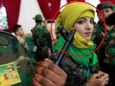 卡扎菲死亡 他的女保镖们也难逃厄运
