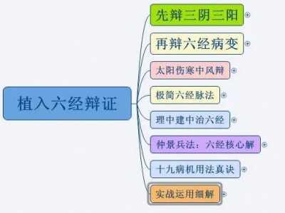 六经辨证 六经辩证方法总结