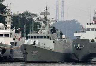 中国海军舰艇 中国海军目前有多少舰艇