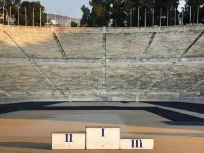 奥运会运动场 曾经的奥运村和体育场是这样的